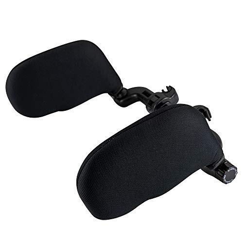 180 Degree Adjustable Both Sides U-Shaped Head Neck Support Travel Sleeping Cushion car seat Memory Foam Neck Pillow Universal for Travel Sleeping.
