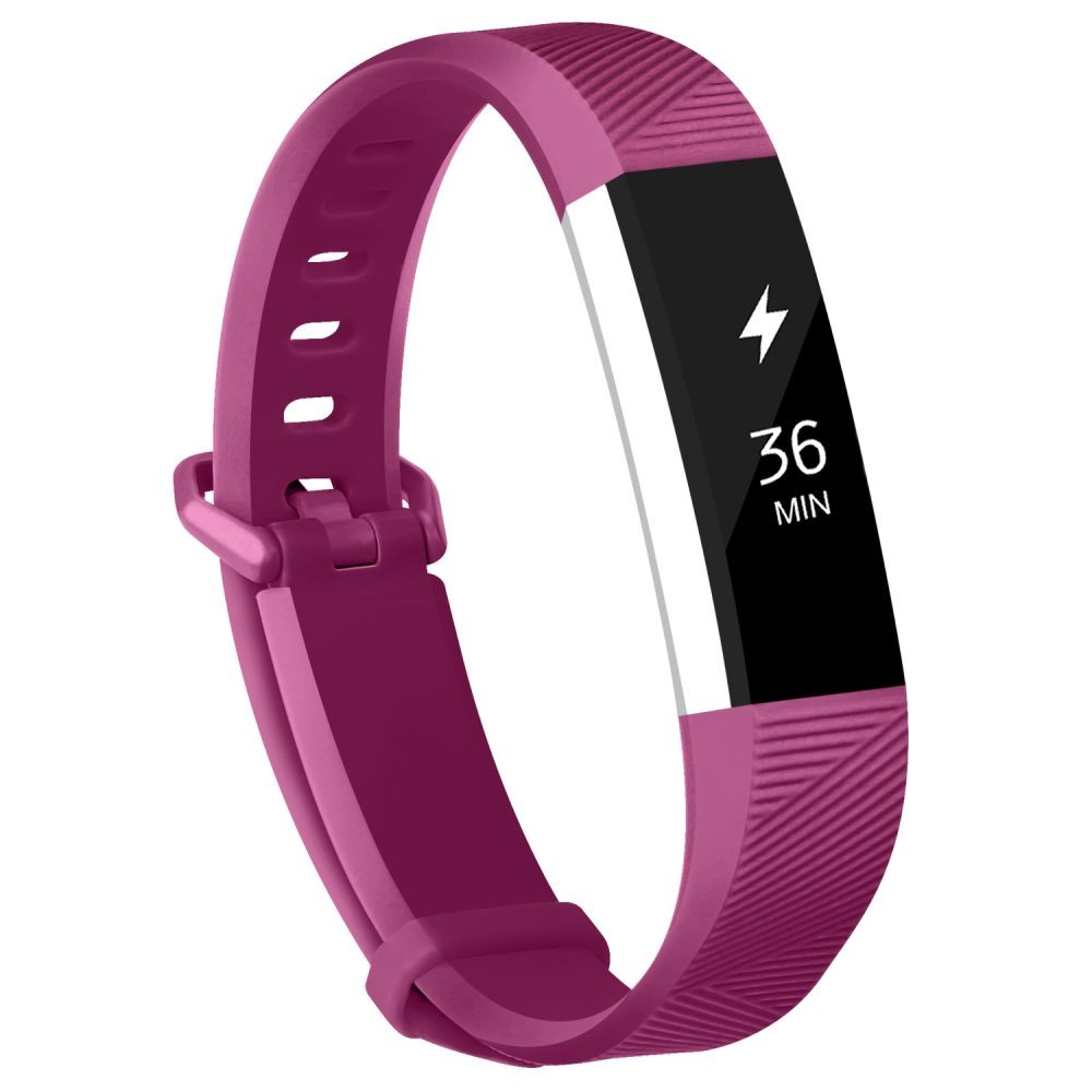 Fitbit Alta Bands Fitbit Alta HR Strap Adjustable Replacement Wrist Bands Soft Silicone Material Strap(Fuchsia Large)