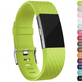 Fitbit Charge 2 Bands Replacement Sport Strap Accessories with Fasteners and Metal Clasps for Fitbit Charge 2 Wristband