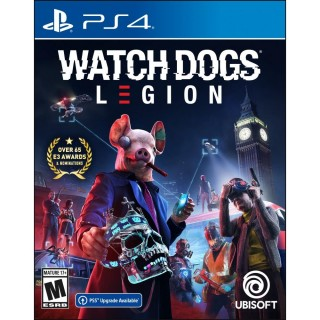 Watch Dogs: Legion PlayStation 4 Standard Edition with free upgrade to the digital PS5 version